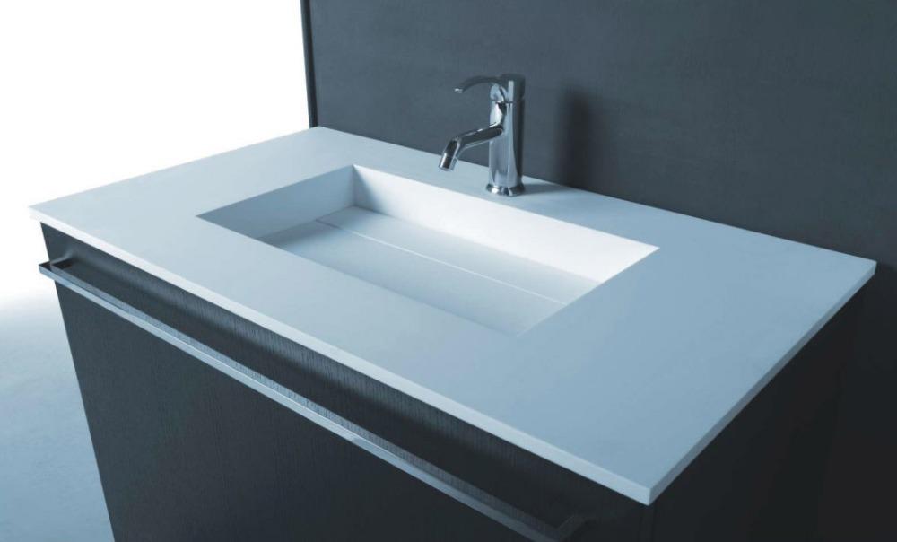 Online kopen wholesale stenen badkamer bekken uit china stenen badkamer bekken groothandel - Stenen wastafel ...