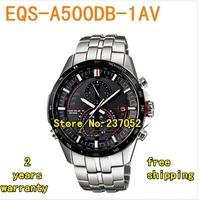 EQS-A500DB-1AV New Chronograph Men's Quartz Movement Watch EQS-A500DB-1A EQS A500DB