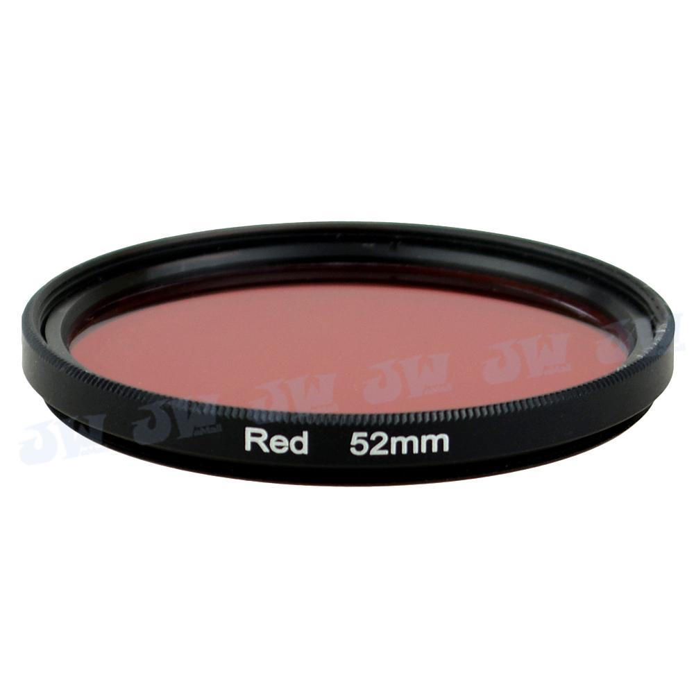 HD Full Red Color Filter for 52MM Lens NikonD7100 D7000 D5100 D3200 D5200 D5300 D600 D610 D3300 D3100 D5000 Df D4s NB COF-52R(China (Mainland))
