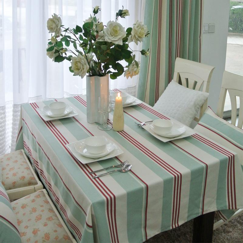 Shop Popular Blue Striped Tablecloth from China Aliexpress : Light font b blue b font font b stripe b font fresh american modern rustic dining from www.aliexpress.com size 800 x 800 jpeg 523kB