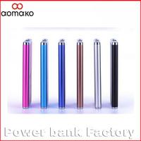 50PC/lot  L372 aluminium alloy power bank 4000MAH ultrathin external battery charger wholesales supplier of china power tool