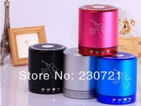 T2020 Angel Speaker Card USB Speaker computer phone MP3 player metal material 10pcs free shipping