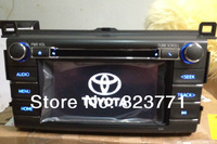 "Toyota RAV4 Car CD player 6"" touch screen with AUX/USB/Buletooth home CD radio system"