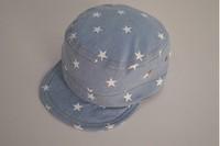 2014 New Children Caps Star Army Cap Summer Sunbonnet  Embroider Bucket Hats Baby Hat Cool Baseball Beach 2 size 48-50cm,50-52cm