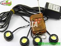 6W IP68 car auto led strobe flash eagle eyes,backup light tail stop daytime running light, light led car reversing light ,