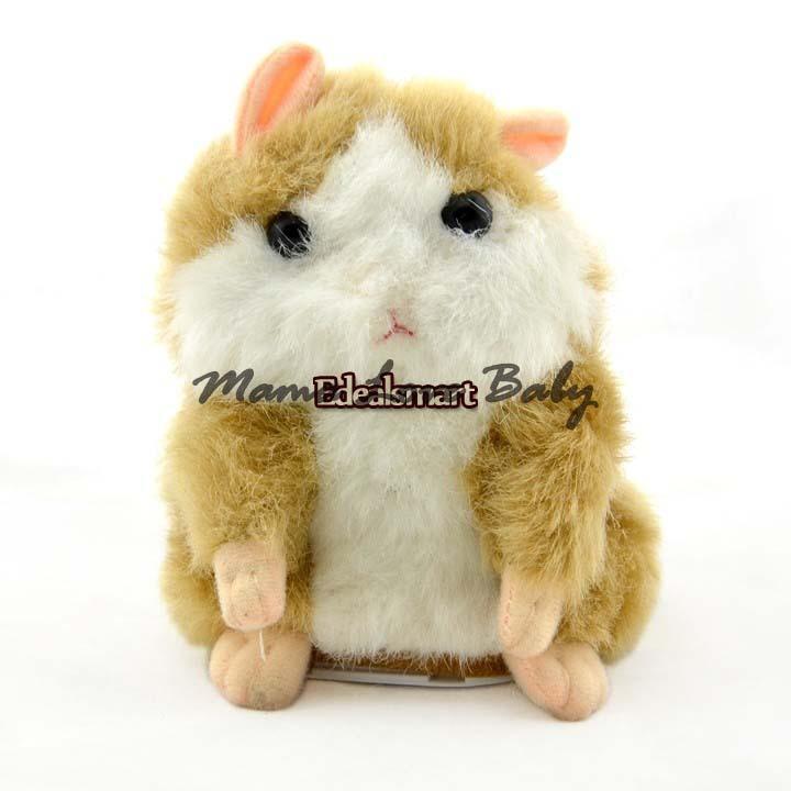 3pcs/lot Mimicry ENE Pet Plush Talking Animal Swing Hamster Kids Child Play Plush Toy(China (Mainland))