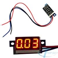 DC 0-100V Red LED Panel Meter DC Digital Voltmeter Voltage Meter medidor de voltaje voltmetro voltimetro voltmheadar woltomierz