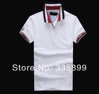 New Arrive 2014 Summer Men's Brand Polo Shirt High Quality Plus Size Cotton Polo Men M-XXL #H1181