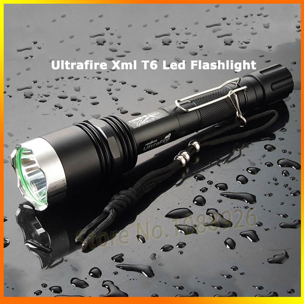 Фонарик Ultrafire X 8 5 1200 Cree T6 LED 2 * 18650 X8 ручной фонарик ultrafire x8 t6