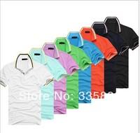 New Arrive 2014 Summer Men's Brand Polo Shirt High Quality Plus Size Cotton Polo Men M-XXL #Cc232