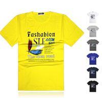 Men's Fashion Quality Short Sleeve T-shirt Casual T Shirt For Men,L-XXXXL Male Summer Tshirt Free Shipping