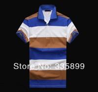 New Arrive 2014 Summer Men's Brand Polo Shirt High Quality Plus Size Cotton Polo Men M-XXL #WP9032