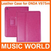 Original Leather Case for Onda v975m Onda v979m 9.7 inch Tablet PC