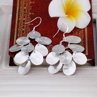 925 silver earrings fashion jewelry earrings beautiful earrings high quality fashion earrings E410