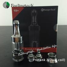 Hot Kanger Protank 3 Electronic Cigarette NEW Dual Coil 2.5ml Kanger Tech  (1*protank3)
