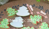 Free ship!!!   The Christmas tree series flat cartoon animals  20*21mm  cream phone beauty DIY accessory  wholesale