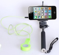 Gopro Mini Tripod Accessories Handheld Monopod  Mount Adapter+Smartphone Holder Clip For Iphone 4 4s 5 5s IOS