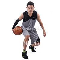Free Ship Fashion Summer Basketball Uniforms Men Basketball Clothes Kobe Logo Man Basketball Apparel 1 set