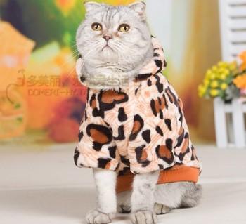 Бесплатный осенью и зимой доставка кошки теплая одежда мягкие норки флис тепловой кошка пальто котенок одежда любимая одежда