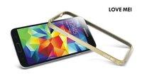 S5 Ultra Thin Aluminum Love Mei Metal Bumper Frame For Samsung Galaxy S5 I9600 Bumper Case