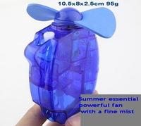 USB mini water mist spray fan Hand-held spray fan aromatous  mini small fan 10.5x8x2.5cm 95g wholesale/retail free shipping