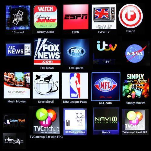 USTV HBO ABC NEWS FOXNEWS IPTV MEDIA PLAYER, XBMC FULLY LOADED SKY SPORTS IPTV Box BBC MBC HBO BEIN SKY SPORT Adult Channel(China (Mainland))