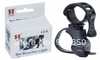 1PC 360 Rotate Cycling Flashlight Mount Bicycle Light Holder Clamp Torch Clip Free Shipping