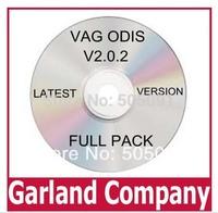 Free shipping multi-language VAG ODIS V2.0.2 VAS PC software crack ODIS 2.0 with ODIS patch