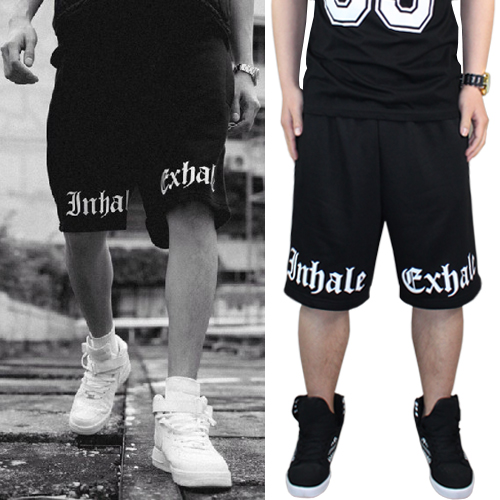 2014 Real Top Active Cotton Herringbone Loose Military Pants Men Young Hungry Gothic Been Trill Pyrex Pants Hiphop Short Health(China (Mainland))