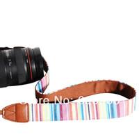 100% GUARANTEE  10X Vintage Camera Shoulder Neck Strap Belt For  Nikon Canon Sony Panasonic Casio SLR DSLR NO.53