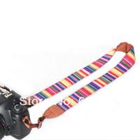 100% GUARANTEE 10X  Vintage Camera Shoulder Neck Strap Belt For  Nikon Canon Sony Panasonic Casio SLR DSLR NO.55