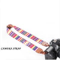 100% GUARANTEE Vintage Camera Shoulder Neck Strap Belt For  Nikon Canon Sony Panasonic Casio SLR DSLR NO.55