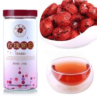 Pu'er Tea rose 2012 Chinese yunan puer tea black tea, China puerh flavor pu er tea Free shipping+gift
