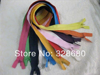 Free shipping- ultra-thin invisible zipper Garment accessories Pillow Zipper  length:40cm Multicolor  100pcs/lot
