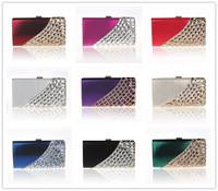 2014 new fashion Women Handbag Fashion Luxury Diamond Evening bag full crystal Rhinestone women's day clutch Party bag 12025