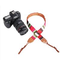 100% GUARANTEE  10X Vintage Camera Shoulder Neck Strap Belt For  Nikon Canon Sony Panasonic Casio SLR DSLR NO.52
