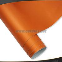 Orange  Matte Chrome Ice Film  Vinyl Wrap 1.52*20M Free Shipping