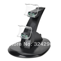Dual Charging Station for PS4 Controller-Black(110-240V)