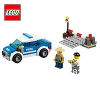 Free Shipping NEW Original educational brand lego Blocks toys 4436 city series Patrol Car 97PCS for childrenGift