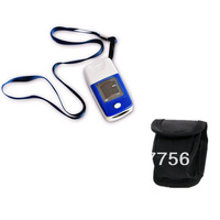 HOT SALE LED Fingertip Pulse Oximeter, Blood Oxygen SpO2 saturation oximetro monitor with pouch