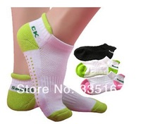 12 pair/lot Women Yoga Socks Glue Dots 4 colors for choose Home Sports Socks