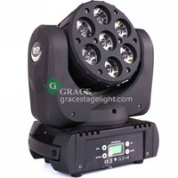 2014 hosale 7*12 RGBW-in-1 4in1 led moving head beam Osram