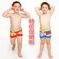 Cartoon infant car child swimming trunk boxer male child swim trunks infant baby