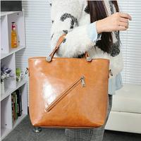 Free Shipping Fashionable PU Handbags Simple and Elegant Messenger Bag