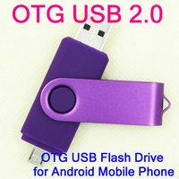 Full Capicity Retail OTG micro usb for sumsang Smart Phone USB Flash Drives thumb pendrive memory stick u disk , free shipping