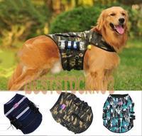 New 3 Colors Outward Hound Saddle Bags Large Dog Vest Travel Hiking Bags Backpacks