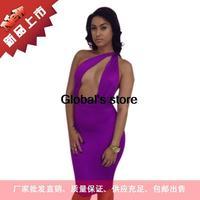 2014 explosion models dress sexy women sexy bandage dress package hip nightclub dress dress 5561