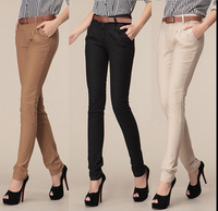 New fashion formal pants women spring summer slim casual harem Pencil cotton skinny pants Casual office trouser