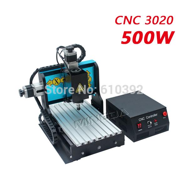Mingda CNC 3020 240w PCB Cutting Machine Metal Engraving Machine Router Engraver Milling Drilling Machine China Manufacturer(China (Mainland))
