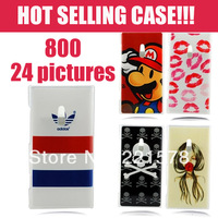 Hot Selling Case For Nokia Lumia 800 With Coloured Drawing Patterns, Fashion Plastic Hard Cover Bags & Cases For Nokia Lumia 800